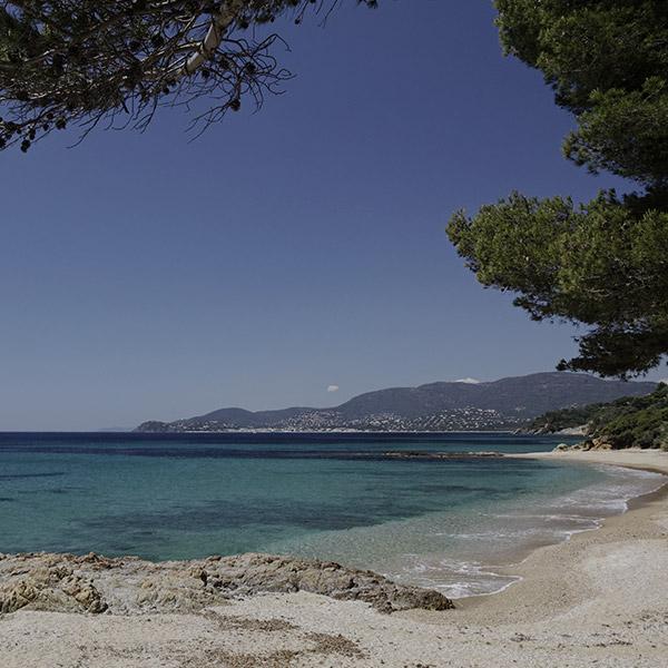 Accès à une plage privée